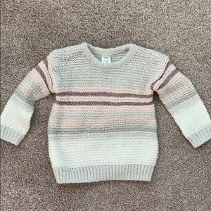Baby Girl GAP knit sweater. Size 18-24 mos